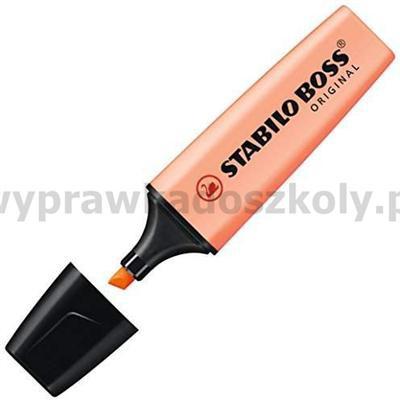 Zakreślacz STABILO pastelowy pomarańczowy 70/126