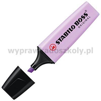 Zakreślacz STABILO Boss pastelowy lilla 70/155