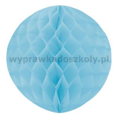 Kula dekoracyjna, błękitna, śr. 30 cm, 1 szt.