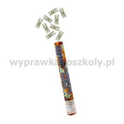 Konfetti pneumatyczne - Dolary / 40 cm