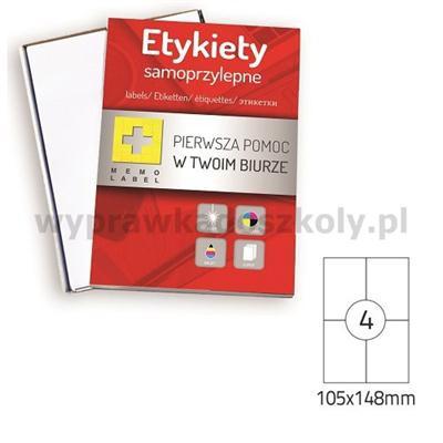 ETYKIETA SAMOPRZYLEPNA DALPO 105/148-30250