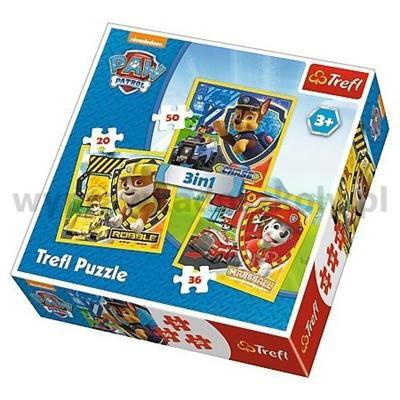 PUZZLE 3W1 PAW PATROL-30385