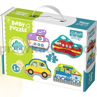 PUZZLE BABY POJAZDY-30391