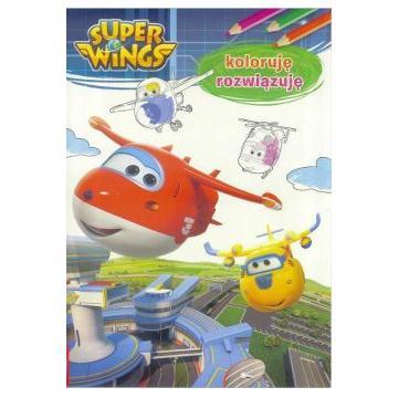 SUPER WINGS KOLORUJĘ I ROZWIĄZUJĘ-30508