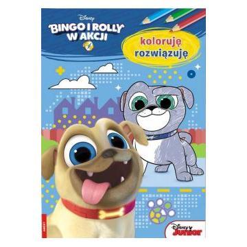 BINGO I ROLLY KOLORUJĘ I ROZWIĄZUJĘ-30510