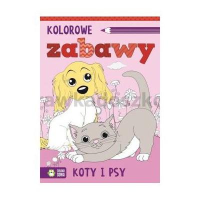 KOLOROWE ZABAWY KOTY I PSY-30840