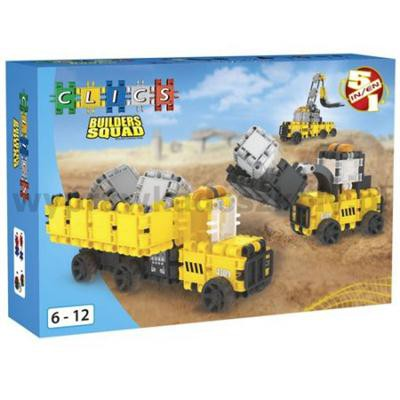 KLOCKI CLICS BUILDERS SQUAD BOX-30265