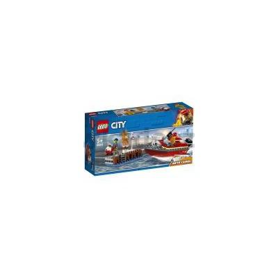 60213 LEGO CITY POŻAR W DOKACH-32486