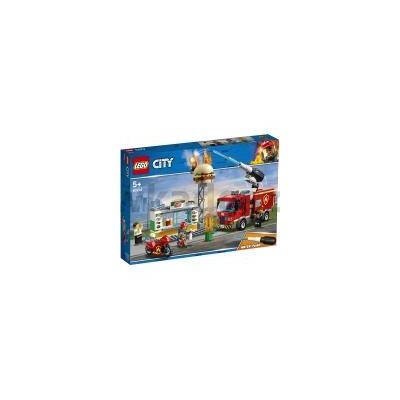 60214 LEGO CITY NA RATUNEK W PŁONĄCYM BARZE-32535