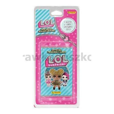 Karty L.O.L. Suprise 5 saszetek karta limitowana-32741