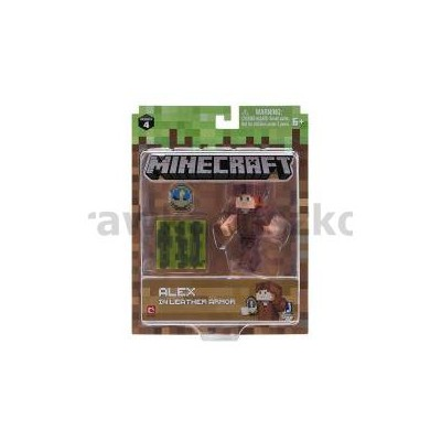 Minecraft Figurka Alex W Skórzanej Zbroi 19975-33460